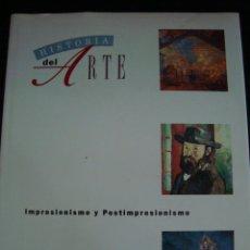 Libros de segunda mano: HISTORIA DEL ARTE VOLUMEN 24. SALVAT TAPA DURA. IMPRESIONISMO Y POSTIMPRESIONISMO.. Lote 56930836