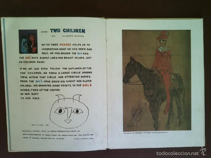 Libros de segunda mano: LIBRO PABLO PICASSO ERNEST RABOFF ART FOR CHILDREN 1969 29X22 CMS TEXTO INGLÉS - Foto 3 - 57219481