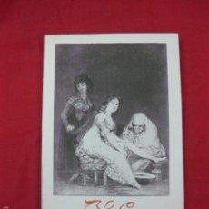 Livros em segunda mão: LES CAPRICES DE GOYA. JEAN ADHEMAR. FERNAND HAZAN 1951. FRANCES. Lote 57403423