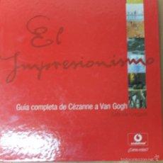 Libros de segunda mano: EL IMPRESIONISMO -GUIA COMPLETA DE CEZANNE A VAN GOGH-VODAFONE-477PG. Lote 57417023