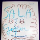Libros de segunda mano: CATALOGO DE LA EXPOSICION PICASSO. SALA GASPAR 1968. PINTURA-DIBUJO-GRAVADOS.. Lote 57703520