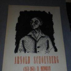 Libros de segunda mano: ARTE ( VANGUARDIAS ) DAU AL SET Nº SETEMBRE DE 1951 ( ORIGINAL ) PAPER OXÀLIC RETRAT D'ARNOLD SCHOEN. Lote 57724677