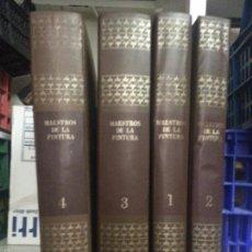 Libros de segunda mano: MAESTROS DE LA PINTURA, NOGUER, 4 TOMOS NOGUER - RIZZOLI, 1973. 30 CM. . Lote 57827868
