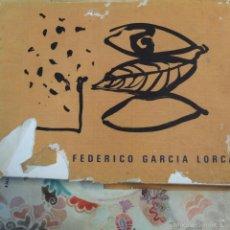 Libros de segunda mano: EL TEATRO FEDERICO GARCÍA LORCA. OBRA SOBRE PAPEL DE FREDERIC AMAT. DIPUTACIÓN GRANADA. Lote 57914263