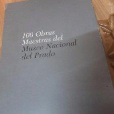 Libros de segunda mano: 100 OBRAS MAESTRAS DEL MUSEO DEL PRADO -4 TOMOS. Lote 57919179