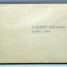 Libros de segunda mano: CARNET PICASSO PARÍS 1900 LIBRO CATÁLOGO INTRODUCCIÓN ROSA Mª SUBIRANA GUSTAVO GILI 1972 . Lote 58108049