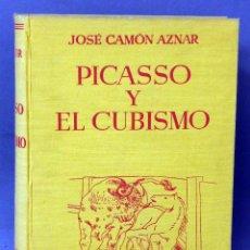 Libros de segunda mano: PICASSO Y EL CUBISMO JOSÉ CAMÓN AZNAR ESPASA CALPE 1956 . Lote 58109944