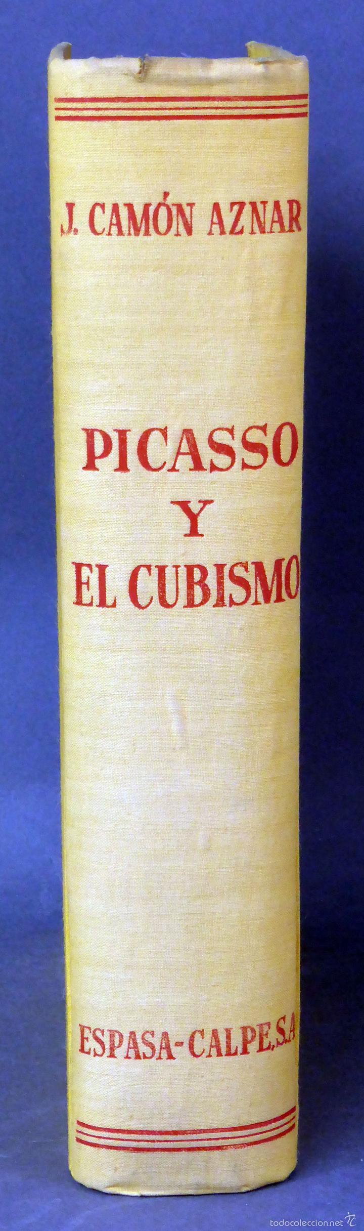 Libros de segunda mano: Picasso y el cubismo José Camón Aznar Espasa Calpe 1956 - Foto 2 - 58109944