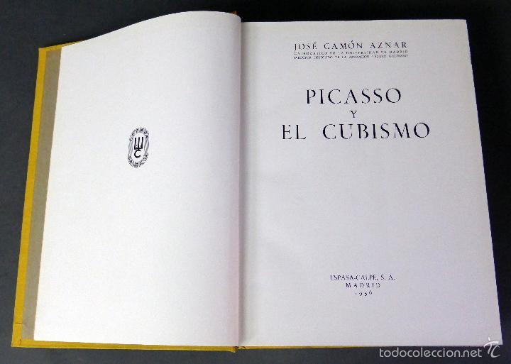 Libros de segunda mano: Picasso y el cubismo José Camón Aznar Espasa Calpe 1956 - Foto 3 - 58109944