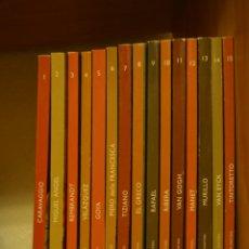 Libros de segunda mano: DESCUBRIR EL ARTE - 15 TOMOS. Lote 58339372