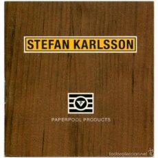 Libros de segunda mano: STEFAN KARLSOON - PAPERPOOL PRODUCTS - WETTERLING GALLERY 1989. Lote 59062090