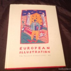 Libros de segunda mano: EUROPEAN ILLUSTRATION THE TWELFTH ANNUAL 1985-86. Lote 60210527