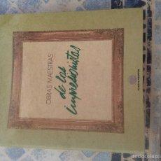 Libros de segunda mano: OBRAS MAESTRAS DE LOS IMPRESIONISTAS. FICHEROS CON 105 FICHAS. EST23B1. Lote 60574631