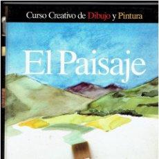 LOTE DE 8 TOMOS - CURSO CREATIVO DE DIBUJO Y PINTURA