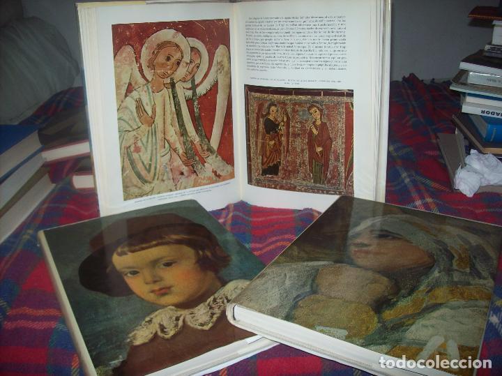 LA PINTURA ESPAÑOLA.3 VOLÚMENES. SKIRA. CARROGGIO EDICIONES.1963. GRECO, RIBALTA, PICASSO,GOYA... (Libros de Segunda Mano - Bellas artes, ocio y coleccionismo - Pintura)