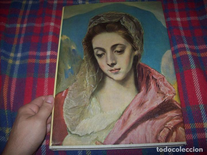 Libros de segunda mano: LA PINTURA ESPAÑOLA.3 VOLÚMENES. SKIRA. CARROGGIO EDICIONES.1963. GRECO, RIBALTA, PICASSO,GOYA... - Foto 2 - 141436554