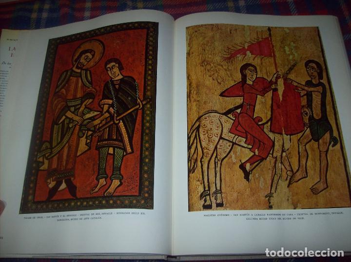 Libros de segunda mano: LA PINTURA ESPAÑOLA.3 VOLÚMENES. SKIRA. CARROGGIO EDICIONES.1963. GRECO, RIBALTA, PICASSO,GOYA... - Foto 5 - 141436554