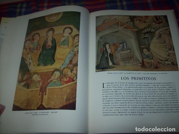 Libros de segunda mano: LA PINTURA ESPAÑOLA.3 VOLÚMENES. SKIRA. CARROGGIO EDICIONES.1963. GRECO, RIBALTA, PICASSO,GOYA... - Foto 7 - 141436554