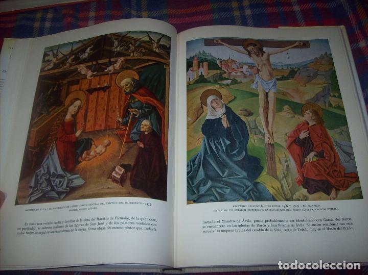 Libros de segunda mano: LA PINTURA ESPAÑOLA.3 VOLÚMENES. SKIRA. CARROGGIO EDICIONES.1963. GRECO, RIBALTA, PICASSO,GOYA... - Foto 10 - 141436554