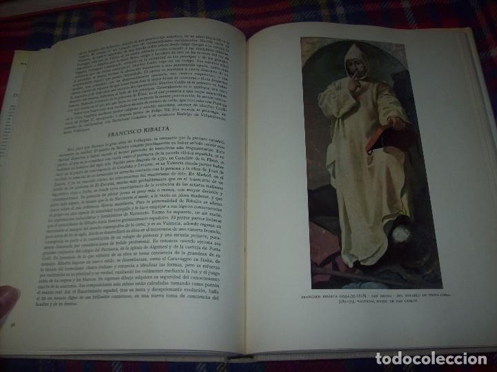Libros de segunda mano: LA PINTURA ESPAÑOLA.3 VOLÚMENES. SKIRA. CARROGGIO EDICIONES.1963. GRECO, RIBALTA, PICASSO,GOYA... - Foto 13 - 141436554