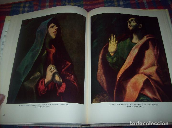 Libros de segunda mano: LA PINTURA ESPAÑOLA.3 VOLÚMENES. SKIRA. CARROGGIO EDICIONES.1963. GRECO, RIBALTA, PICASSO,GOYA... - Foto 14 - 141436554