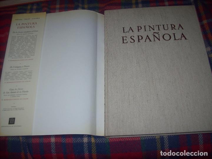 Libros de segunda mano: LA PINTURA ESPAÑOLA.3 VOLÚMENES. SKIRA. CARROGGIO EDICIONES.1963. GRECO, RIBALTA, PICASSO,GOYA... - Foto 22 - 141436554