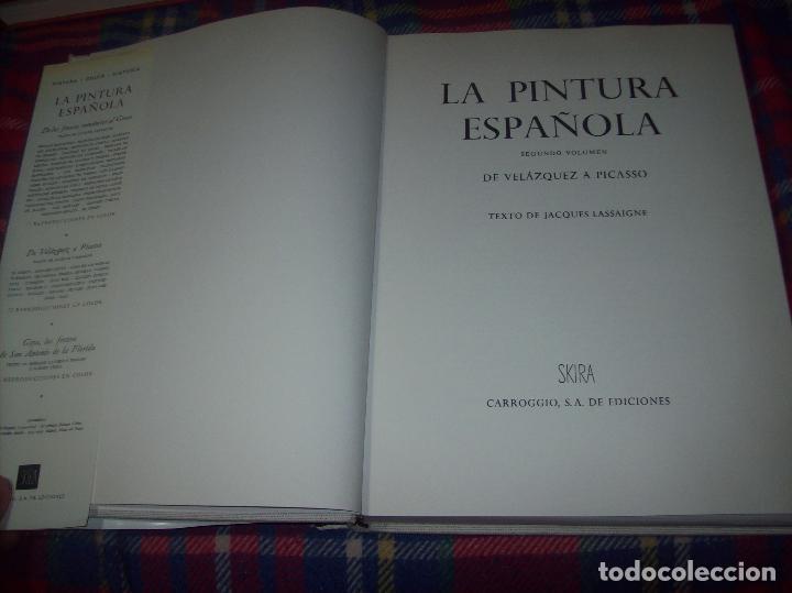 Libros de segunda mano: LA PINTURA ESPAÑOLA.3 VOLÚMENES. SKIRA. CARROGGIO EDICIONES.1963. GRECO, RIBALTA, PICASSO,GOYA... - Foto 25 - 141436554