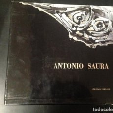 Libros de segunda mano: ESPECTACULAR LIBRO ANTONIO SAURA GERARD DE CORTAZE. Lote 62382036