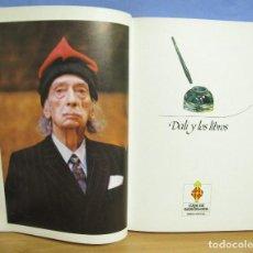 Libros de segunda mano: DALÍ Y LOS LIBROS -EDUARD FORNES - EDIT. MEDITERRANEA AÑO 1985 TOTALMENTE ILUSTRADO. Lote 62469200