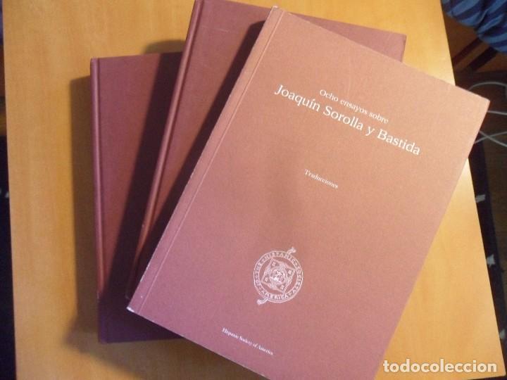 Libros de segunda mano: EIGHT ESSAYS ON JOAQUIN SOROLLA Y BASTIDA. OCHO ENSAYOS SOBRE JOAQUIN SOROLLA Y BASTIDA. 3 LIBROS. 2 - Foto 2 - 62580952