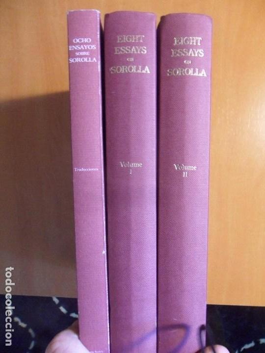 EIGHT ESSAYS ON JOAQUIN SOROLLA Y BASTIDA. OCHO ENSAYOS SOBRE JOAQUIN SOROLLA Y BASTIDA. 3 LIBROS. 2 (Libros de Segunda Mano - Bellas artes, ocio y coleccionismo - Pintura)
