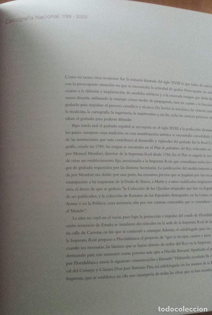 Libros de segunda mano: ORIGENES, RENOVACIÓN, VANGUARDIA. ESTAMPAS CALCOGRAFÍA NACIONAL. ACADEMIA BELLAS ARTES SAN FERNANDO - Foto 3 - 62748428