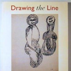 Libros de segunda mano: (BARCELÓ, BASQUIAT, RAUCHENSBERG, SERRA, KOONS) - DRAWING THE LINE AGAINST AIDS - VENEZIA 1993 + FOT. Lote 63300335