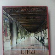 Libros de segunda mano: GALERIA DE LOS UFFIZI-EMMA MICHELETTI-LIBROFILM-AGUILAR-1969-TAPA DURA-ESTUCHE. Lote 63471464