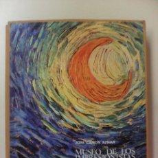 Libros de segunda mano: MUSEO DE LOS IMPRESIONISTAS-J. CAMON AZNAR-LIBROFILM-AGUILAR-1968-TAPA DURA-ESTUCHE. Lote 63471872
