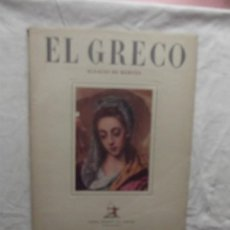 Libros de segunda mano: DOMENICOS THEOTOCOPOULOS EL GRECO DE IGNACIO DE BERYES . Lote 63481096