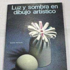 Libros de segunda mano: LUZ Y SOMBRA EN DIBUJO ARTISTICO, JOSE Mº PARRAMON, 1982 64 PAGINAS. Lote 63674691