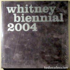 Libros de segunda mano: WHITNEY BIENNAL 2004 ( 2 VOLÚMENES - COMPLETO ) - NEW YORK 2004 - MUY ILUSTRADO. Lote 63885773