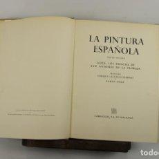 Libros de segunda mano: 4923- LA PINTURA ESPAÑOLA. JACQUES LASSAIGNE. EDIT. CARROGGIO. 1952/55. 3 VOL.. Lote 43990500