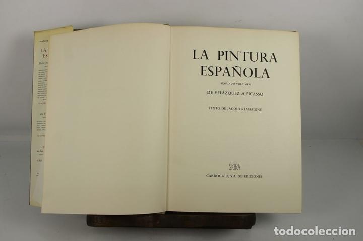 Libros de segunda mano: 4923- LA PINTURA ESPAÑOLA. JACQUES LASSAIGNE. EDIT. CARROGGIO. 1952/55. 3 VOL. - Foto 2 - 43990500