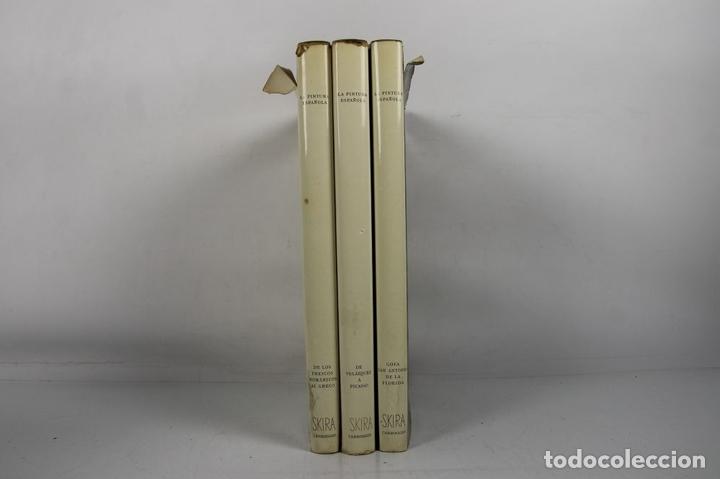 Libros de segunda mano: 4923- LA PINTURA ESPAÑOLA. JACQUES LASSAIGNE. EDIT. CARROGGIO. 1952/55. 3 VOL. - Foto 7 - 43990500