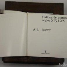 Libros de segunda mano: 4939- CATALEG DE PINTURA SEGLES XIX I XX. AJUNTAMENT DE BARCELONA. 1987. 2 VOL.. Lote 44038890