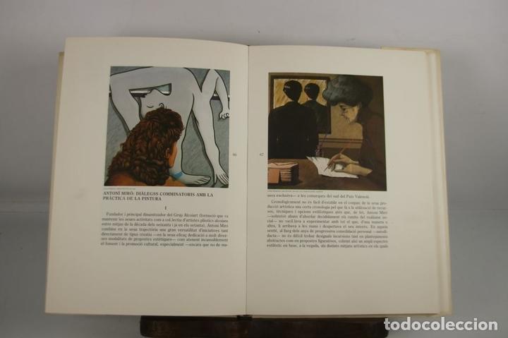 Libros de segunda mano: 5008- ANTONI MIRO. DIALEGS. ROMA DE LA CALLE. SAN TELMO MUSEOA. 1989. DEDICADO. - Foto 3 - 44094854