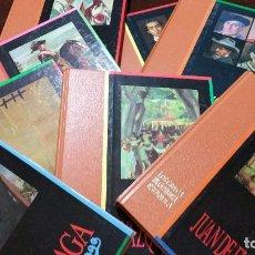 Libros de segunda mano: LOTE 11 TOMOS COLECCION GENIOS DE LA PINTURA ESPAÑOLA DE SARPE. Lote 64887803