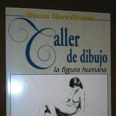 Libros de segunda mano: TALLER DE DIBUJO: LA FIGURA HUMANA POR MANOS MARAVILLOSAS DE ED. DE VEGA EN MADRID 2000. Lote 65755510
