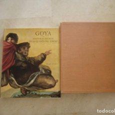 Libros de segunda mano: GOYA Y SUS PINTURAS NEGRAS DE LA QUINTA DEL SORDO. Lote 66110762