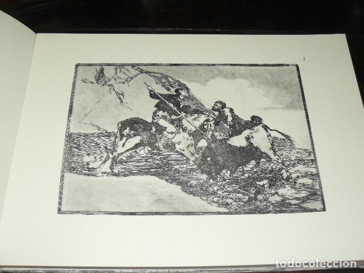 Libros de segunda mano: LA TAUROMAQUIA DE GOYA GUSTAVO GILI 1981 FACSÍMIL TEXTO DE E.LAFUENTE - Foto 3 - 66750342