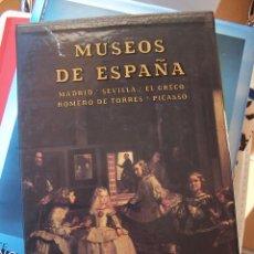 Libros de segunda mano: MUSEOS DE ESPAÑA. MADRID- SEVILLA- EL GRECO- ROMERO DE TORRES- PICASSO. ED. EVEREST. Lote 67300229