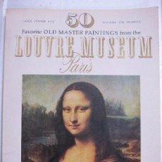 Libros de segunda mano: 50 LOUVRE MUSEUM, PARIS. ILUSTRADO. ARTABRAS BOOK. AÑO 1979. 104 PAGINAS. 38,4X30 CM. Lote 67377629