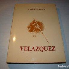 Libros de segunda mano: VELAZQUEZ - AURELIANO DE BERUETE - EDICIÓN NUMERADA . Lote 67622665